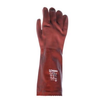 دستکش ایمنی ضد اسید مچ بلند