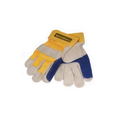 دستکش چرمی کف دوبل نووا 9001